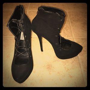 Steve Madden corset heels. Worn once!